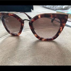 BRAND NEW Prada Tortoise Shell sunglasses